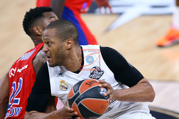 Turkish Airlines Euroleague.<br /> Final Four - Vitoria-Gasteiz 2019.<br /> Semifinals.<br /> CSKA Moscow vs Real Madrid: 95-90.<br /> Cory Higgins vs Anthony Randolph.