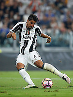 Calcio, Serie A: Juventus vs Fiorentina. Torino, Juventus Stadium, 20 agosto 2016.<br /> Juventus&rsquo; Sami Khedira in action during the Italian Serie A football match between Juventus and Fiorentina at Turin's Juventus Stadium, 20 August 2016. Juventus won 2-1.<br /> UPDATE IMAGES PRESS/Isabella Bonotto