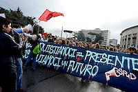 Roma, 7 Ottobre 2016<br /> Manifestazione delle scuole contro la riforma , il governo Renzi e il referendum costituzionale