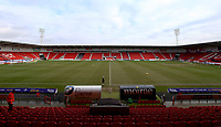 General View of the Keepmoat Stadium, Doncaster Rovers prior to kick off in the Sky Bet League 1 match between Doncaster Rovers and Fleetwood Town at the Keepmoat Stadium, Doncaster, England on 17 February 2018. Photo by Leila Coker / PRiME Media Images.during the Sky Bet League 1 match between Doncaster Rovers and Fleetwood Town at the Keepmoat Stadium, Doncaster, England on 17 February 2018. Photo by Leila Coker / PRiME Media Images.