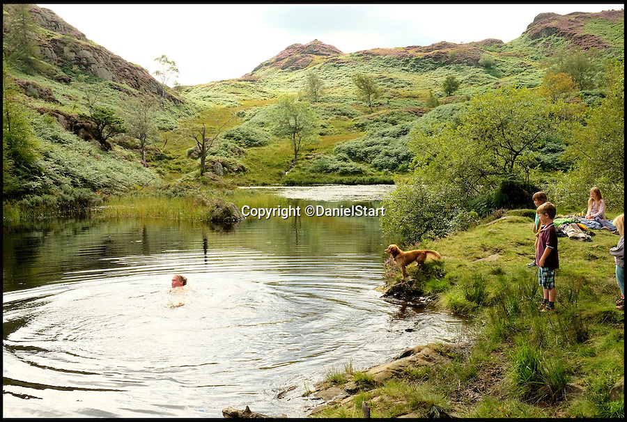 BNPS.co.uk (01202 558833)<br /> Pic: DanielStart/BNPS<br /> <br /> Holme Fell a secret lake in the Lake District in Cumbria.<br /> <br /> They are two of country's hottest holiday destinations, visited by millions of tourists each year - but now a new book has revealed the hidden gems of the Lake District and Yorkshire Dales.<br /> <br /> The guide turns its back on hotspots like Lake Windemere, Coniston, Kendal and Bowness, instead unveiling more than 400 of the best kept secrets of Britain's most popular national parks, found only off the beaten track.<br /> <br /> It lifts the lid on hidden waterfalls, huge caverns, forgotten tunnels, secret valleys and islands, bothy huts, lost ruins, magical meadows and ancient forest away from the tourist trail.<br /> <br /> The Wild Guide to the Lake District and Yorkshire Dales is published by Wild Things Publishing on June 1 and costs £15.99.