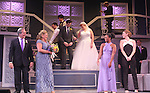 "Guiding Light's Kim Zimmer and cast Joel Briel, Kevin Toniazzo-Naughton, Molly Tower, Drew Tildon, Kayleen Seidl star in ""It Shoulda Been You"" - a new musical comedy - at the Gretna Theatre, Mt. Gretna, PA on July 30, 2016. (Photo by Sue Coflin/Max Photos)"