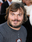 HOLLYWOOD, CA. - November 09: Actor Jack Black arrives at the Kung Fu Panda DVD Release at Grauman's Chinese Theatre on November 9, 2008 in Hollywood, California.