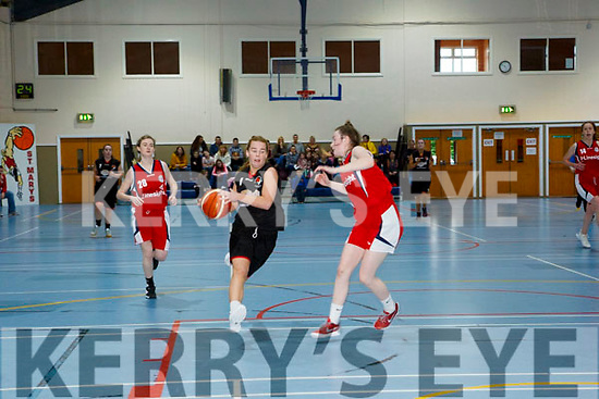 St. Mary's Andrea Murphy at the Basketball National Cup St Mary's v Templeogue at Castleisland Community Centre on Sunday