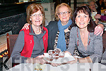 Supporting the Recovery Haven coffee morning fund-raiser and information morning at the Arbutus Hotel on Friday last. .L-R Eileen O'Callaghan, Kathleen O'Connor and Ann O'Connor.