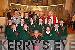 Scartaglen NS pupils who were confirmed by Bishop Bill Murphy in St Stephen's and John's Church Castleisland on Friday   Copyright Kerry's Eye 2008