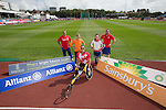 IPC European Athletics Championship 2014<br /> Swansea University<br /> L-R: Aled Davies, Marlou van Rhijn, Marcel Hug, Stefanie Reid &amp; Dan Greaves.<br /> 18.08.14<br /> &copy;Steve Pope-SPORTINGWALES