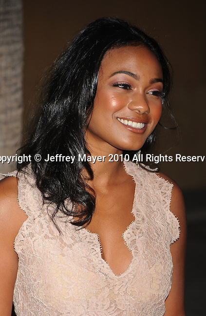 "HOLLYWOOD, CA. - April 19: Tatyana Ali arrives at the Los Angeles Premiere of ""Mother And Child"" at the Egyptian Theatre on April 19, 2010 in Hollywood, California."