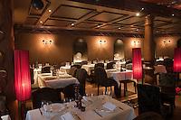 Europe/France/Rhône-Alpes/74/Haute-Savoie/Megève/ Restaurant: Les Enfants Terribles à l'Hôtel Mont Blanc