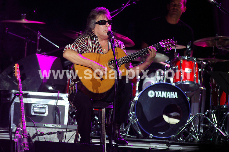"**ALL ROUND PICTURES FROM SOLARPIX.COM**.**WORLDWIDE SYNDICATION RIGHTS**.""3 Masters"" concert: Al Jarreau, Jose Feliciano and George Benson perform at Estepona Bullring, Spain, Saturday July 28 2007...This pic: Jose Feliciano..JOB REF:  4488   JGS        DATE: 28_07_2007.**MUST CREDIT SOLARPIX.COM OR DOUBLE FEE WILL BE CHARGED* *UNDER NO CIRCUMSTANCES IS THIS IMAGE TO BE REPRODUCED FOR ANY ONLINE EDITION WITHOUT PRIOR PERMISSION*"