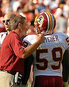 Landover, MD - October 7, 2007 -- Detroit Lions against the Washington Redskins at FedEx Field in Landover, Maryland on Sunday, October 7, 2007.  The Redskins won the game 34 - 3..Credit: Ron Sachs / CNP
