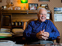 NWA Democrat-Gazette/JASON IVESTER <br />John Cross; photographed on Friday, Nov. 20, 2015, inside Cornerstone Bank in Eureka Springs for nwprofiles<br />**PREFERRED LEAD PORTRAIT***
