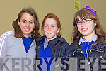 READY FOR ACTION: All set for the exams at Presentation Secondary School, Milltown on Wednesday morning, l-r: Alison O'Sullivan, Vicky Moynihan, Amy Fisher.