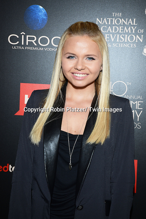 Alli Simpson attends The 40th Annual Daytime Emmy Awards on<br />  June 16, 2013 at the Beverly Hilton Hotel in Beverly Hills, California.