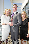 Orla Diffily Upfront, Breffni Morgan Best Newcomer Best dressed award winner and Lisa Dennehy Upfront at the Kerry Fashion Weekend Fashion Awards Lunch at the Aghadoe Heights Hotel, Killarney on Sunday.