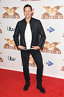 Brendan Cole<br /> at the photocall of X Factor Celebrity, London<br /> <br /> ©Ash Knotek  D3524 09/10/2019