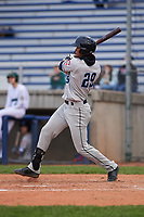 Lake County Captains center fielder Will Benson (29) during a Midwest League game against the Beloit Snappers at Pohlman Field on May 6, 2019 in Beloit, Wisconsin. Lake County defeated Beloit 9-1. (Zachary Lucy/Four Seam Images)