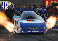 Oct. 31, 2008; Las Vegas, NV, USA: NHRA funny car driver Jack Beckman during qualifying for the Las Vegas Nationals at The Strip in Las Vegas. Mandatory Credit: Mark J. Rebilas-