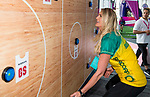 28/10/17 Fast5 2017<br /> Fast 5 Netball World Series<br /> Hisense Arena Melbourne<br /> <br /> Caitlyn Bassett<br /> <br /> <br /> <br /> <br /> Photo: Grant Treeby