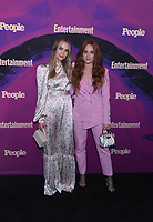 NEW YORK, NEW YORK - MAY 13: Rebecca Rittenhouse and Sophia La Porta attends the People & Entertainment Weekly 2019 Upfronts at Union Park on May 13, 2019 in New York City. <br /> CAP/MPI/IS/JS<br /> ©JS/IS/MPI/Capital Pictures