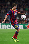 UEFA Champions League 2013/2014.<br /> FC Barcelona vs Celtic FC: 6-1 - Game: 6.<br /> Sergi Roberto.