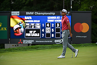 Rafael Cabrera Bello (ESP) barely misses his eagle putt on 5 during Rd3 of the 2019 BMW Championship, Medinah Golf Club, Chicago, Illinois, USA. 8/17/2019.<br /> Picture Ken Murray / Golffile.ie<br /> <br /> All photo usage must carry mandatory copyright credit (© Golffile   Ken Murray)