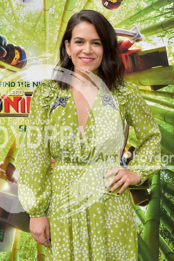 Abbi Jacobson bei der Premiere des Kinifilme 'The LEGO Ninjago Movie' im Regency Village Theatre. Westwood, 16.09.2017