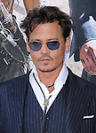 Johnny Depp at The Disney World Premiere of The Lone Ranger held at at Disney California Adventure in Anaheim, California on June 22,2021                                                                   Copyright 2013 Hollywood Press Agency