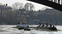 London, GREAT BRITAIN,   2007 Boat Race, . Sat. April 7th. England [Photo Peter Spurrier/Intersport Images] Varsity Boat Race, Rowing Course: River Thames, Championship course, Putney to Mortlake 4.25 Miles,