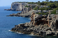 SPAIN  Mallorca, Llombards, rocky coast /SPANIEN  Mallorca, Llombards, felsige Kueste