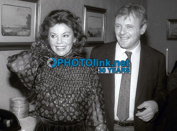 Marsha Mason and Anthony Hopkins 1983<br /> Photo By Jesse Nash/PHOTOlink