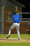 Vance Anderson (8) of the Lake Norman Wildcats at bat against the Davie War Eagles at Davie County High School on March 7, 2018 in Mocksville, North Carolina.  The Wildcats defeated the War Eagles 12-0.  (Brian Westerholt/Four Seam Images)