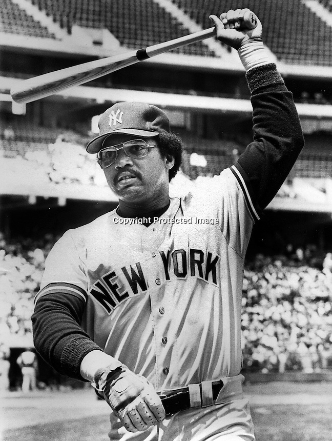 Mr. October, Reggie Jackson (1979 photo by Ron Riesterer)