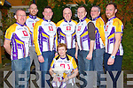 NEW KIT: Members of the Chain Gang Cycling Club at the launch of their new kit at the Meadowlands Hotel, Tralee on Friday night, l-r: John L McElligott, Ken Keohane, Brendan O'Connor, Ian Duggan, Jennifer Crowley, Christo Murray, Dave Elton, John O'Regan.