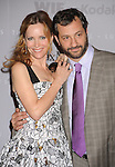 CENTURY CITY, CA. - June 01: Actress Leslie Mann and Writer/Director Judd Apatow arrive at the 2010 Crystal + Lucy Awards: A New Era at Hyatt Regency Century Plaza on June 1, 2010 in Century City, California.