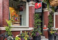 Christine David Fine Art Gallery, Lancaster City, Pennsylvania, USA