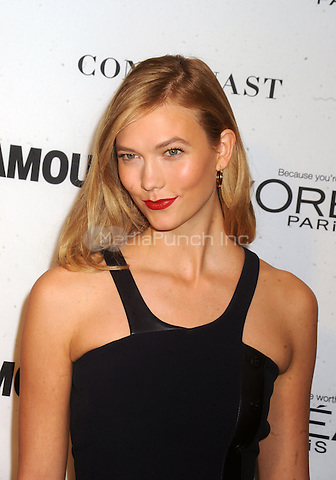Karlie Kloss attends Glamour's 25th Anniversary Women Of The Year Awards at Carnegie Hall   on November 9, 2015. Credit: Dennis Van Tine/MediaPunch