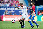 Mariano Ferreira Filho (l) of Sevilla FC fights for the ball with Jorge Resurreccion Merodio, Koke, of Atletico de Madrid during their La Liga match between Atletico de Madrid and Sevilla FC at the Estadio Vicente Calderon on 19 March 2017 in Madrid, Spain. Photo by Diego Gonzalez Souto / Power Sport Images