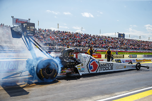 NHRA Mello Yello Drag Racing Series<br /> Lucas Oil NHRA Southern Nationals<br /> Atlanta Dragway, Commerce, GA USA<br /> Saturday 6 May 2017 Antron Brown, Matco Tools, top fuel dragster<br /> <br /> World Copyright: Mark Rebilas<br /> Rebilas Photo