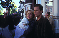Mystic River (2003)<br /> Laura Linney &amp; Kevin Bacon<br /> *Filmstill - Editorial Use Only*<br /> CAP/KFS<br /> Image supplied by Capital Pictures