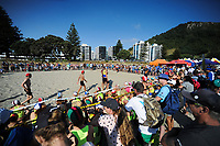 Oceans 19 Under-14 Surf Lifesaving New Zealand tournament at Mount Maunganui Main Beach in Mount Maunganui, New Zealand on Thursday, 7 March 2019. Photo: Dave Lintott / lintottphoto.co.nz