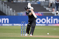 Kane Williamson (New Zealand) straight drives during West Indies vs New Zealand, ICC World Cup Warm-Up Match Cricket at the Bristol County Ground on 28th May 2019