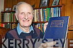 RARE FIND: Liam Lynch from Knocknagoshel with a recently discovered book which includes testimony from a local man on conditions in Abbeyfeale in 1920.