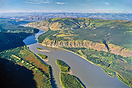 Yukon River through the Klondike region, Yukon