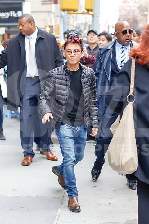 James Wan is seen wlaking in Soho on December 3, 2018 in New York City. (PHOTO: VANESSA CARVALHO/BRAZIL PHOTO PRESS)