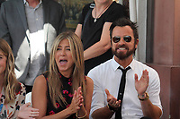 Jennifer Aniston, Justin Theroux<br /> at the Jason Bateman Star on the Hollywood Walk of Fame, Hollywood, CA 07-26-17<br /> David Edwards/DailyCeleb.com 818-249-4998