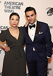 Lauren Marcus and Joe Iconis attends The American Theatre Wing's 2019 Gala at Cipriani 42nd Street on September 16, 2019 in New York City.