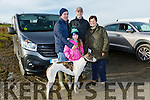 At Ballyduff Coursing on Sunday were Kate Feely, Brendan Feely, Sean Hayes, Marie Field with Ballyina Babe from Ballyduff