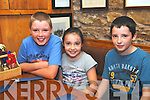 Daniel, Sarah and Arthur Moynihan from Rathmore at the Annascaul Beer Fest over the weekend.