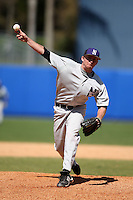 March 23, 2010:  Pitcher Michael Jahns of the Northwestern Wildcats during a game at the Chain of Lakes Stadium in Winter Haven, FL.  Photo By Mike Janes/Four Seam Images